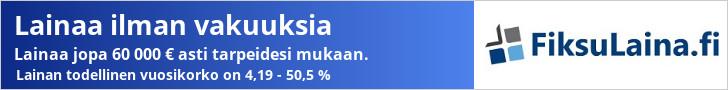 FiksuLaina.fi - Hae lainaa 100 - 60.000 €