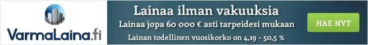 VarmaLaina.fi - Hae lainaa 100 - 60.000 €