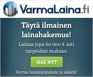 VarmaLaina.fi - Lainaa 100 - 60.000 euroa